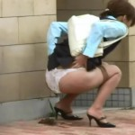 [TG-065] Scat Panties defecation theft Taking Picture girl of crap in the shit, all toilets are closed