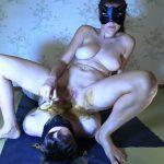 Grace feeds slave with chocolate Scat Princess Grace