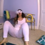 White Tights BUBBLE Guts with LoveRachelle2  [UltraHD/4K]
