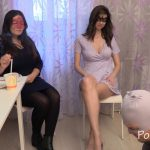 Chocolate lunch from Karina and Kamilla with MilanaSmelly [FullHD]