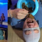 Training course for the toilet slave with MilanaSmelly Poo19